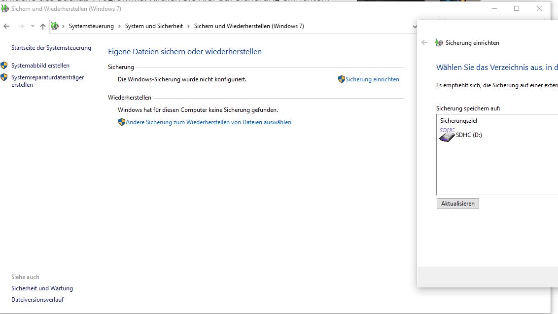 Windows 10 auf eine neue Festplatte übertragen