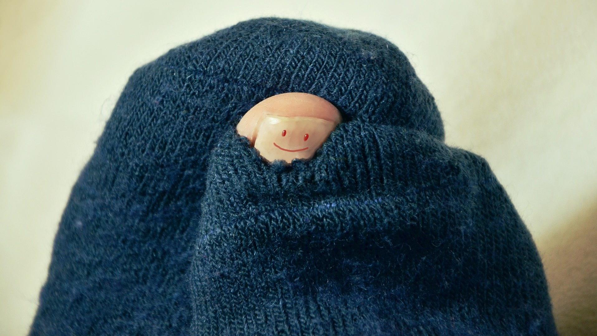 Socken stopfen - Ganz einfach selber machen