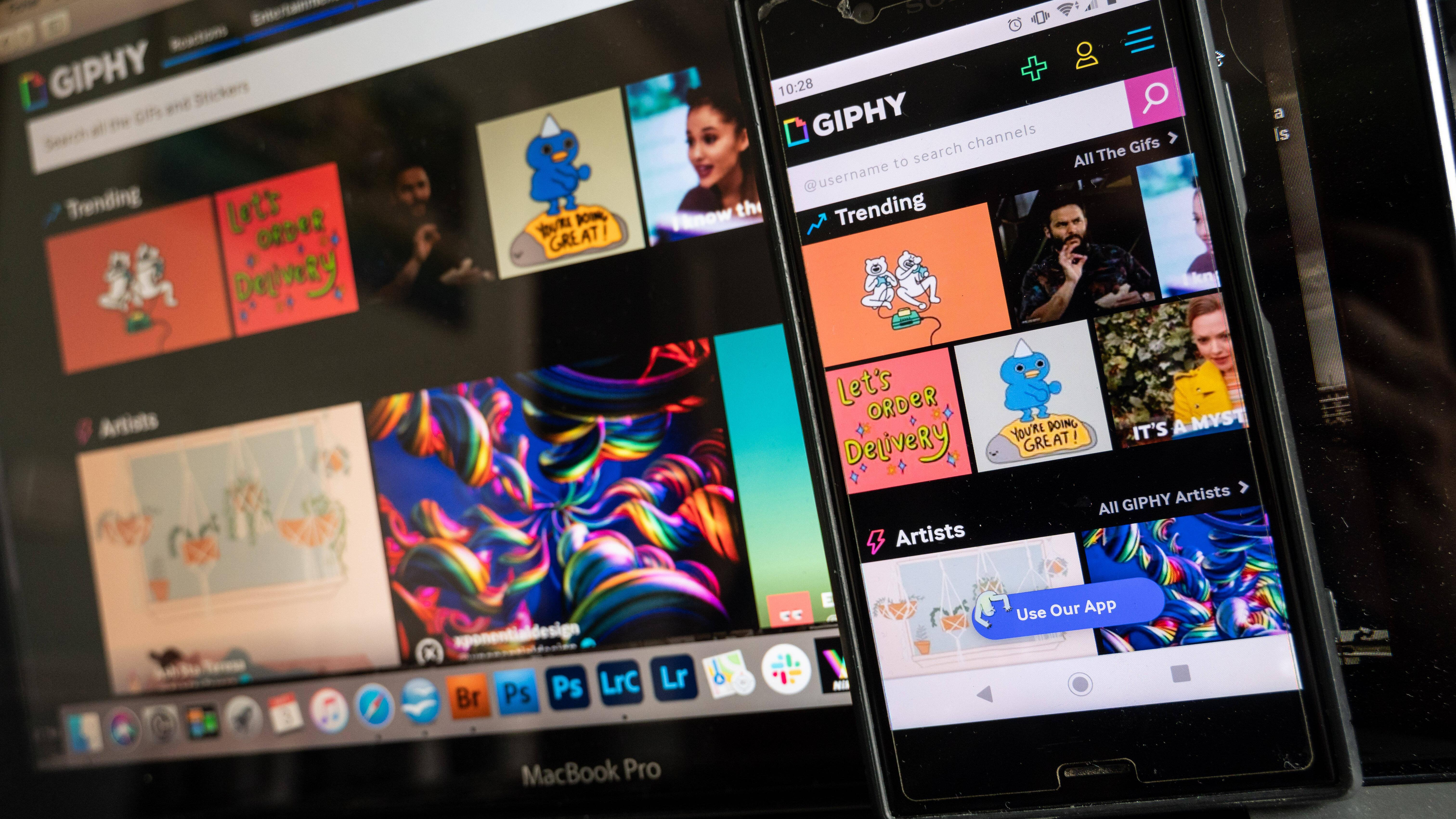 GIFs werden gerne im Internet versendet, um Emotionen auszudrücken.
