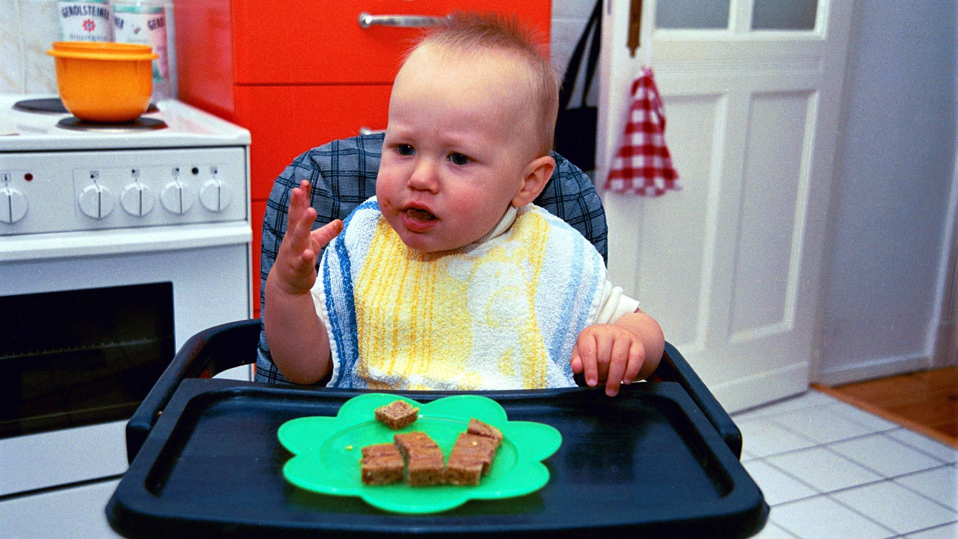 Frischkäse ist für Babys unter bestimmten Voraussetzungen genießbar.