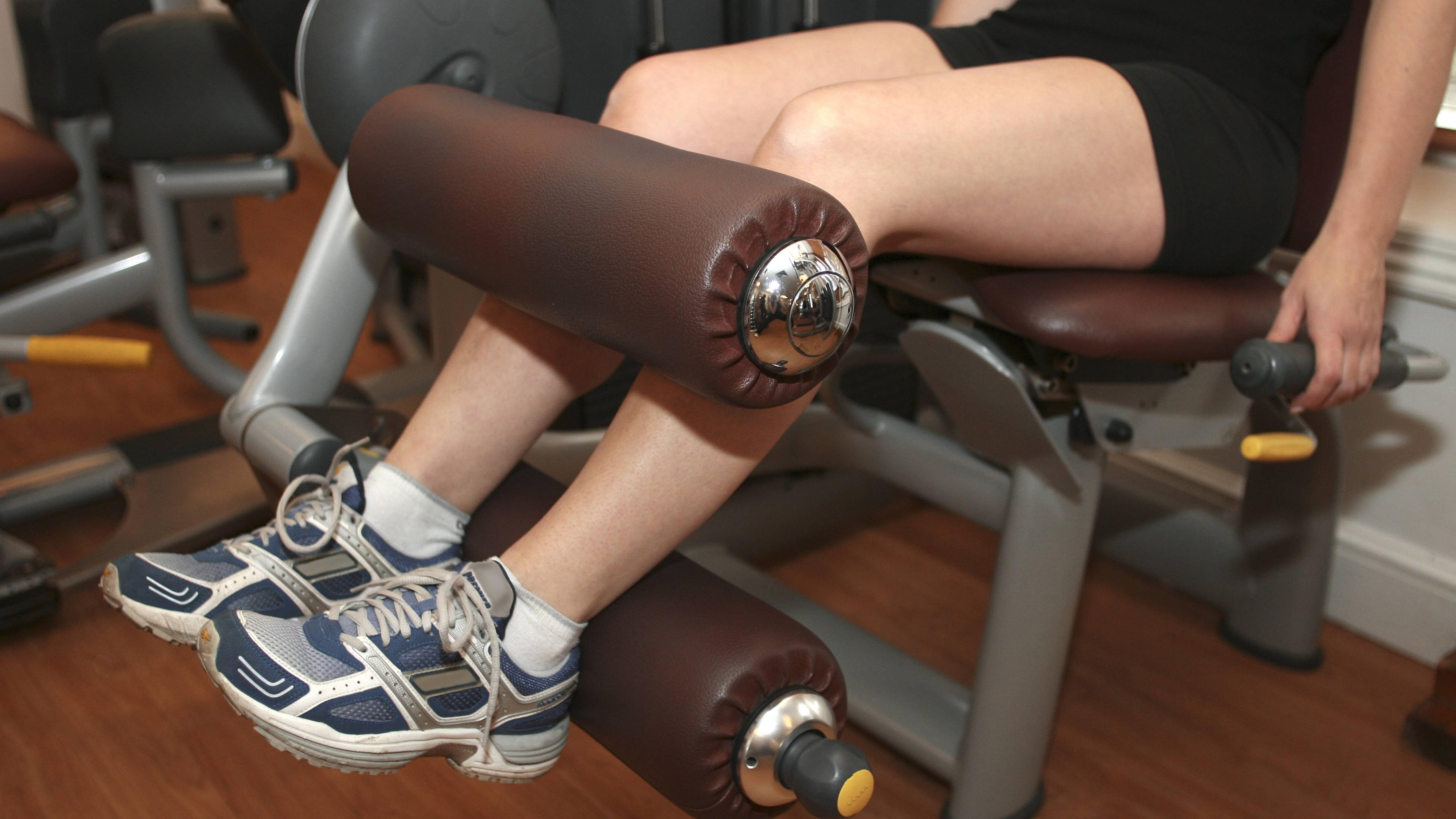 Beintraining für Frauen: Tipps und geeignete Übungen
