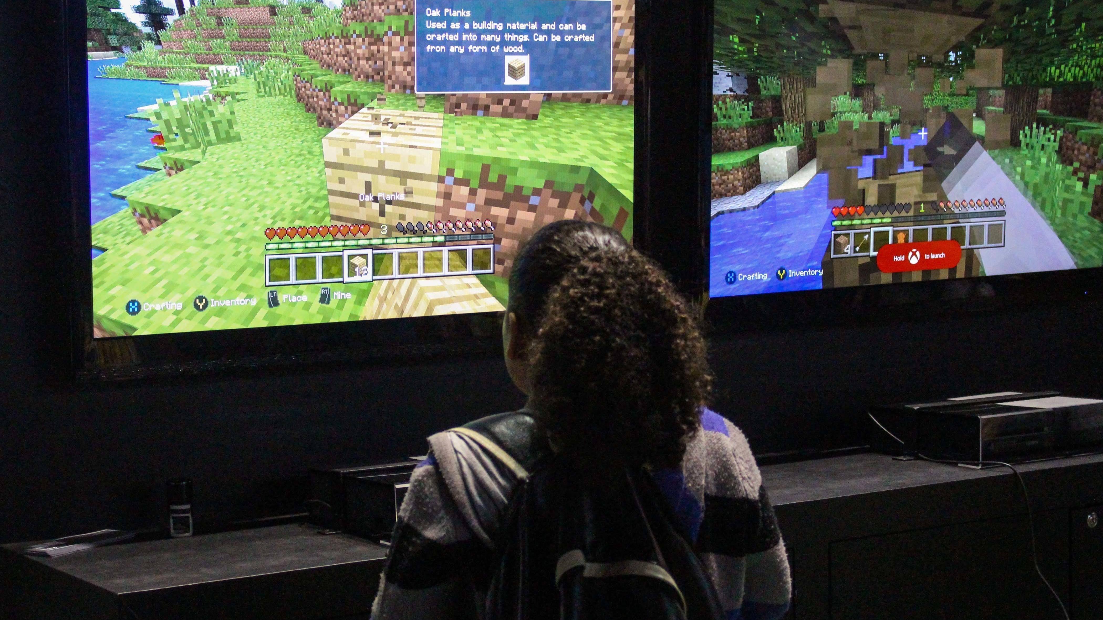 Bauen Sie in Minecraft ein ganzes Dorf.
