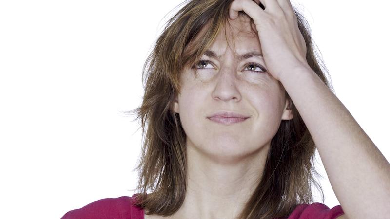 Vergesslichkeit im jungen Alter kann an Stress liegen.
