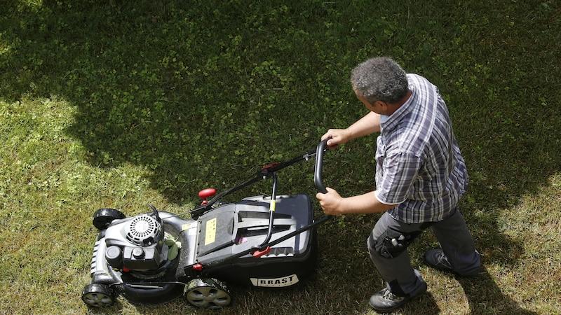 Ist der Rasenmäher defekt, können Sie den Tank und die Zündkerzen checken.
