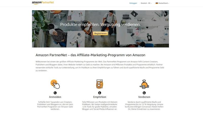 Über das Amazon Partnerprogramm können Sie mit Ihrem Blog Geld verdienen.