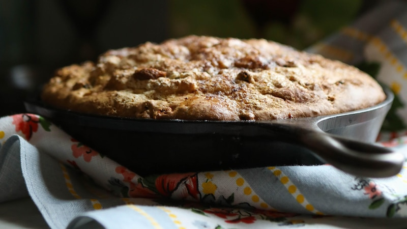 Kuchen aus der Pfanne: Einfaches Rezept ohne Backofen