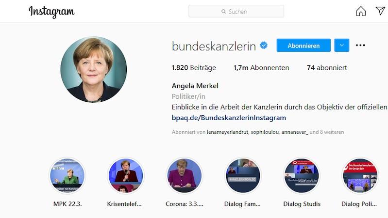 Bekannte Personen können ihren Account auf Instagram verifizieren lassen.