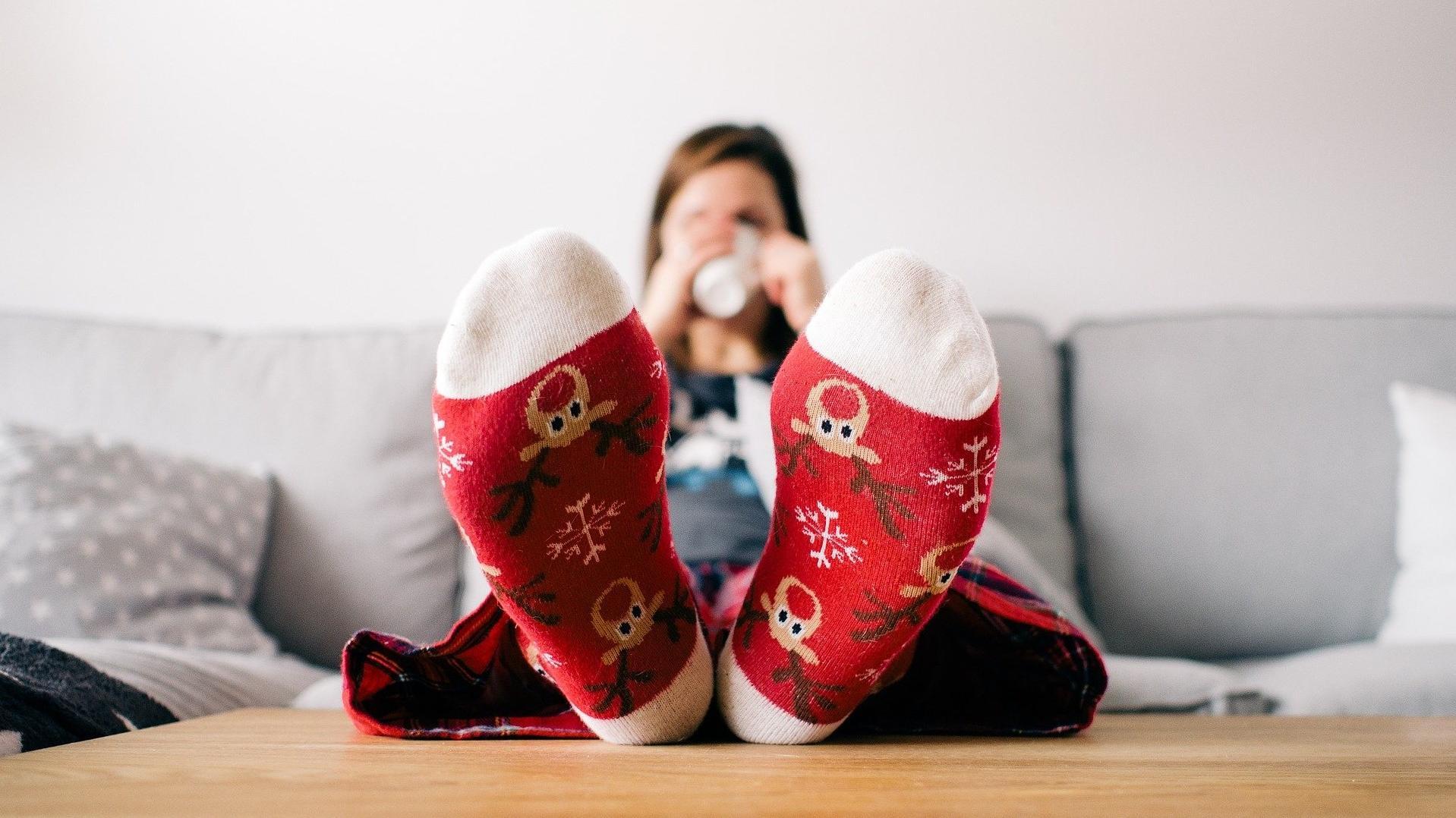 Kalte Füße können ein gefährliches Symptom sein.