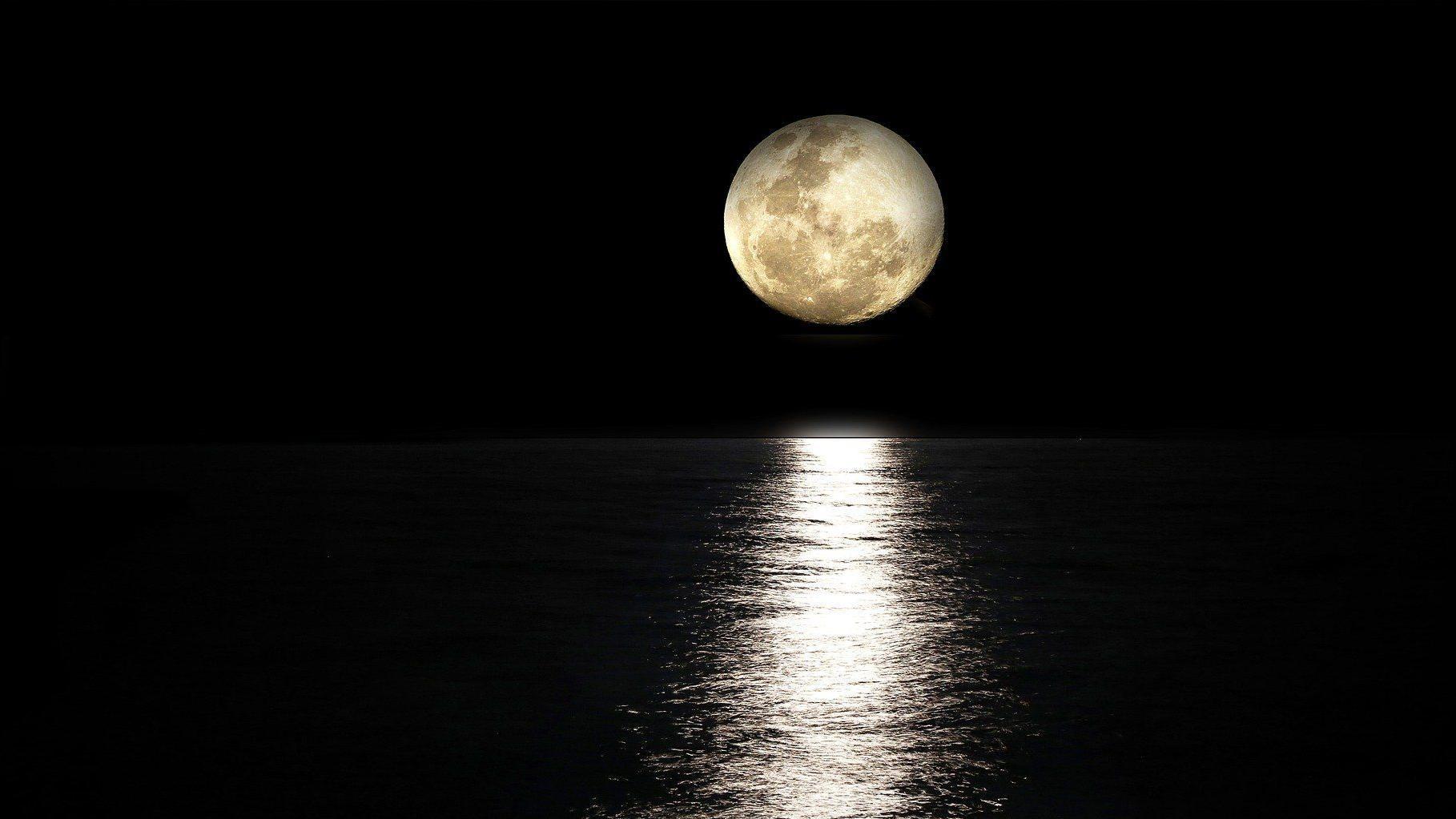 Der Mond und die Himmelsrichtung: Verlauf und Bestimmung