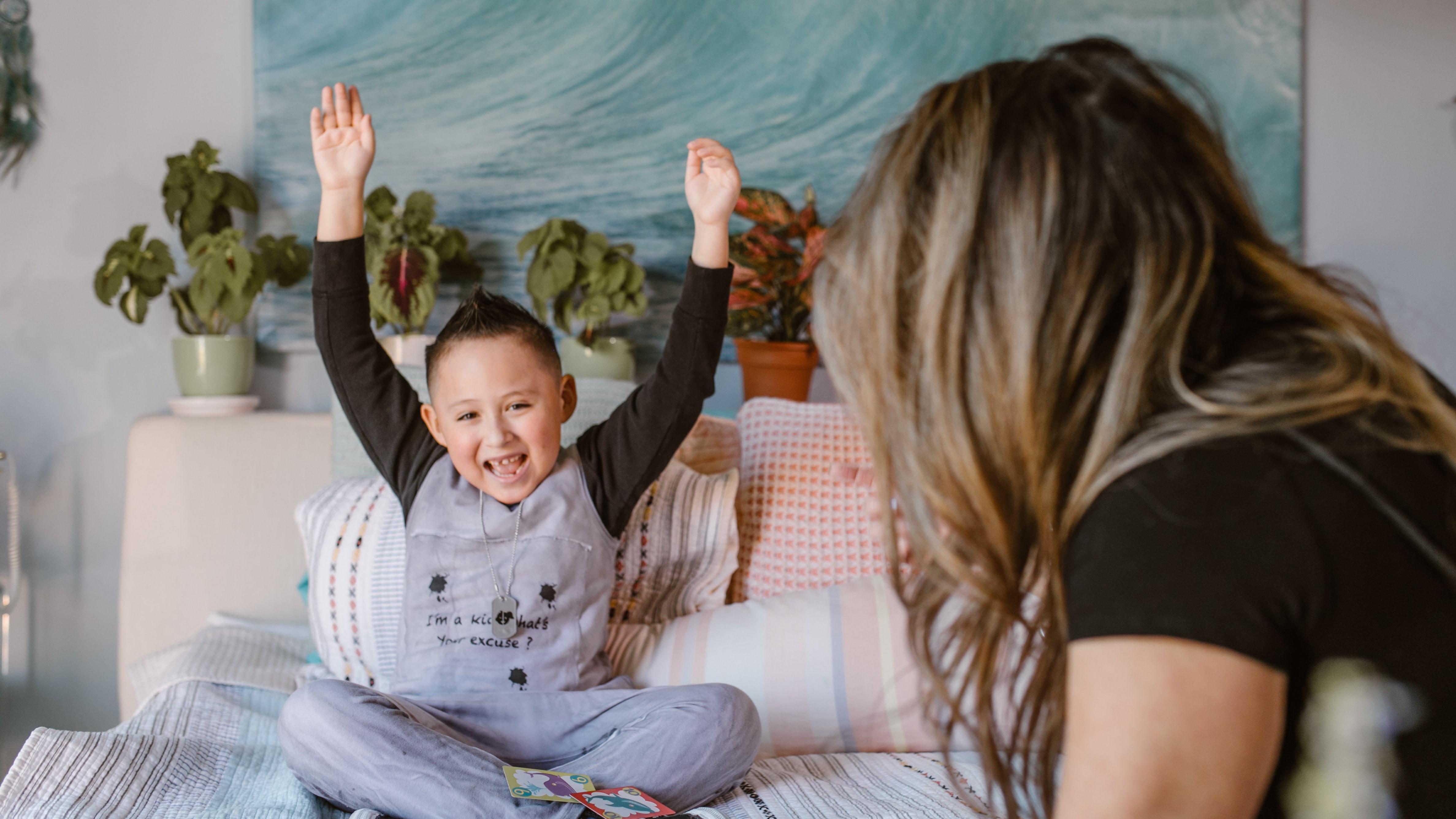 Bei Sagaland Junior können bereits Kinder ab 3 Jahren mitspielen.