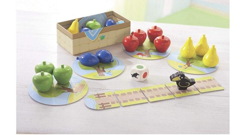 Mein kleiner Obstgarten ist ein beliebtes Spiel für Kinder ab 2 Jahren.