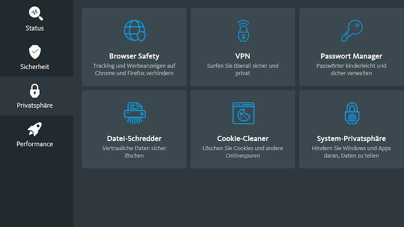 Avira Free Security ist eines der besten kostenlosen Antivirenprogramme und lässt sich mit wenigen Klicks steuern. Ideal für Sie, wenn Sie einen Rundumschutz suchen.