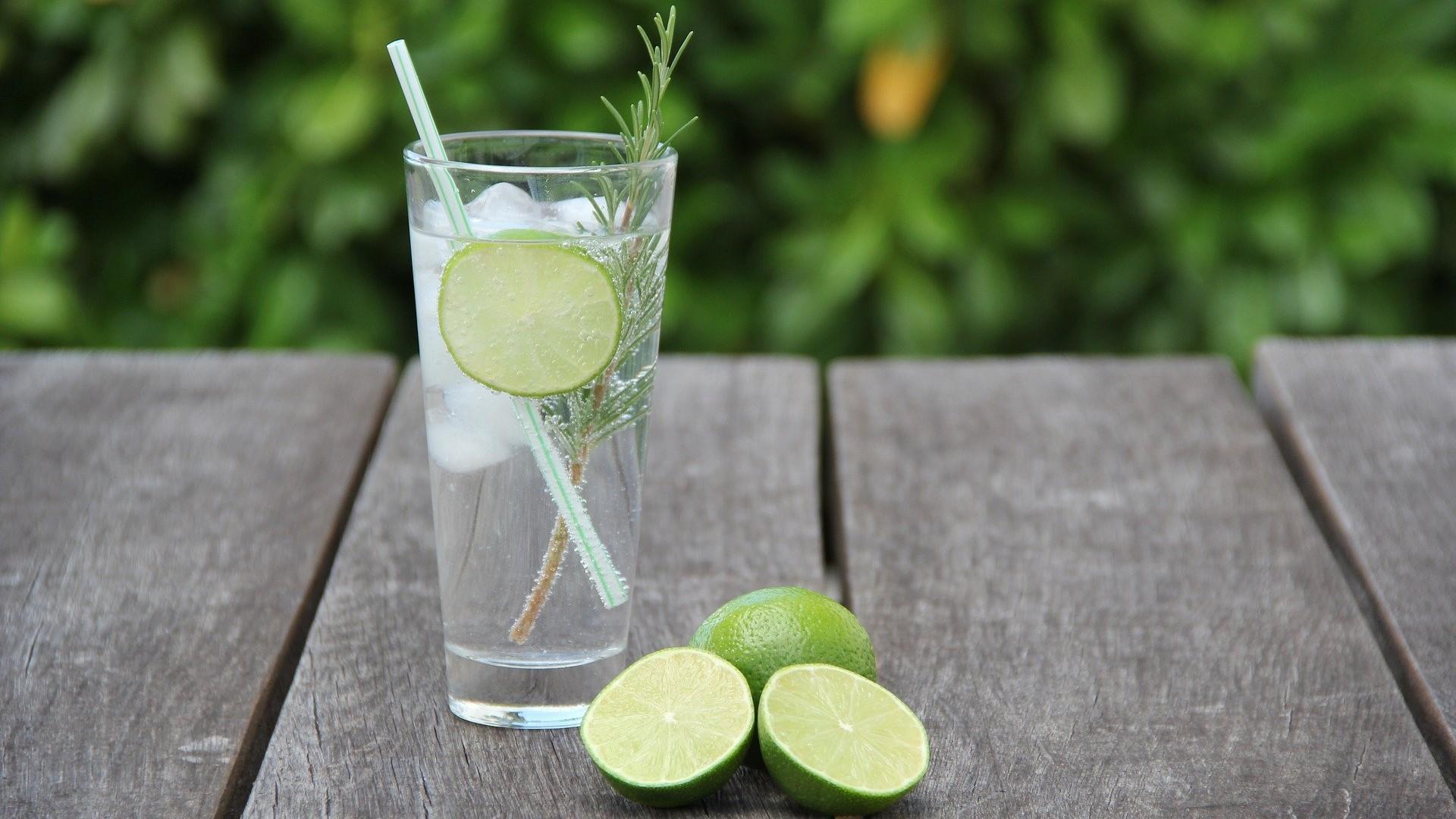 Wie trinkt man Gin: Beispielsweise als leckeren Gin Tonic.