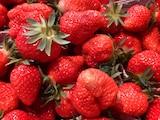 Im Juli haben beispielsweise Erdbeeren Hochsaison.