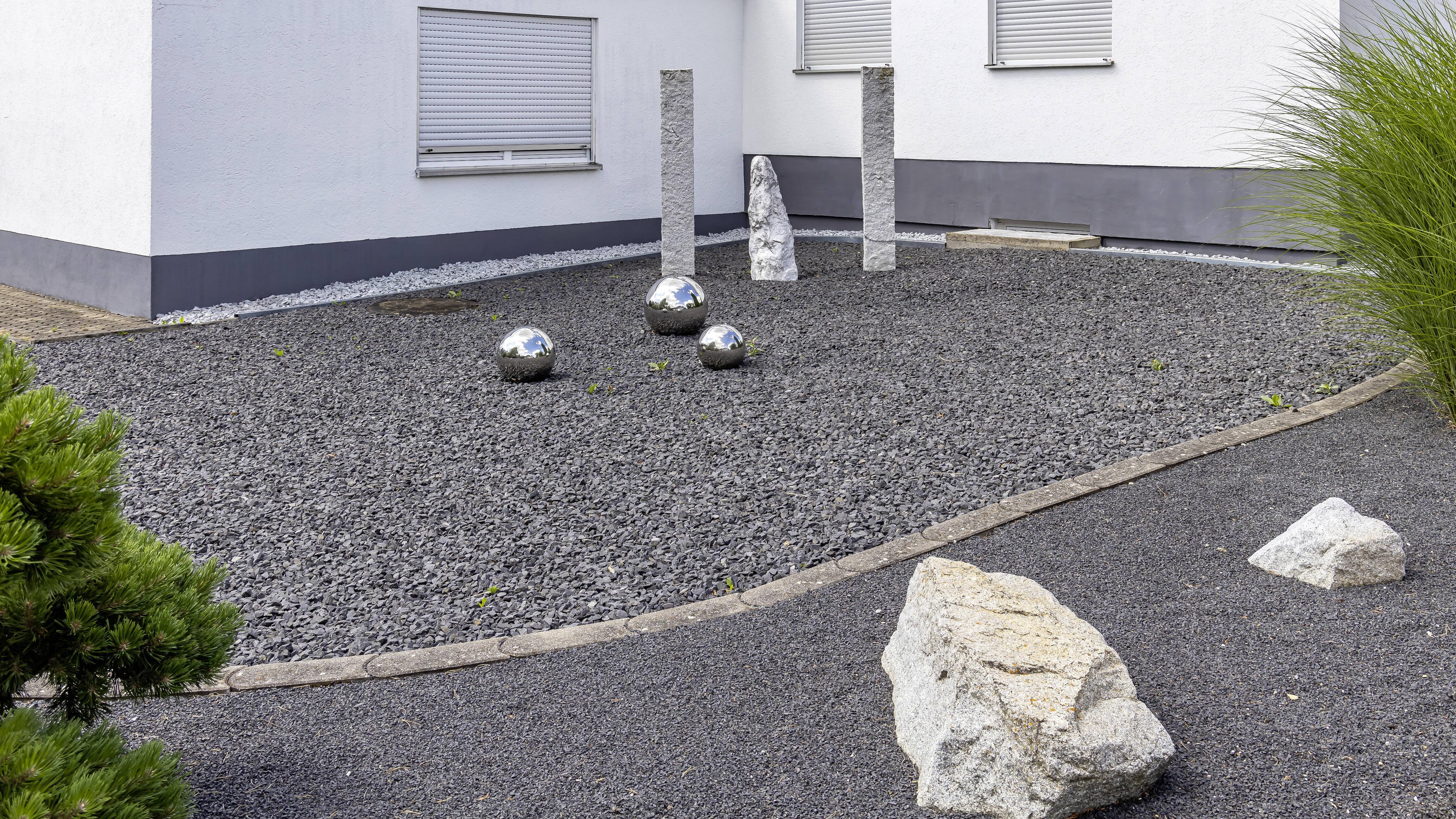 Schottergärten sind in einigen Bundeländern schon verboten.
