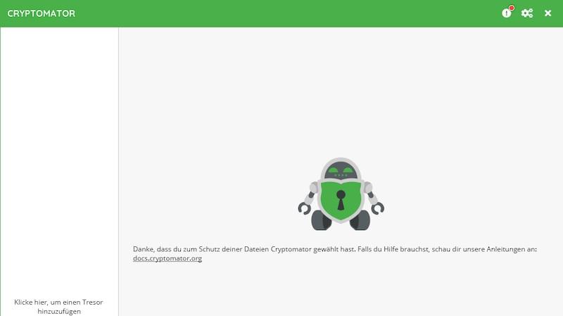 Dropbox mit können Sie auch mit Cryptomator verschlüsseln.