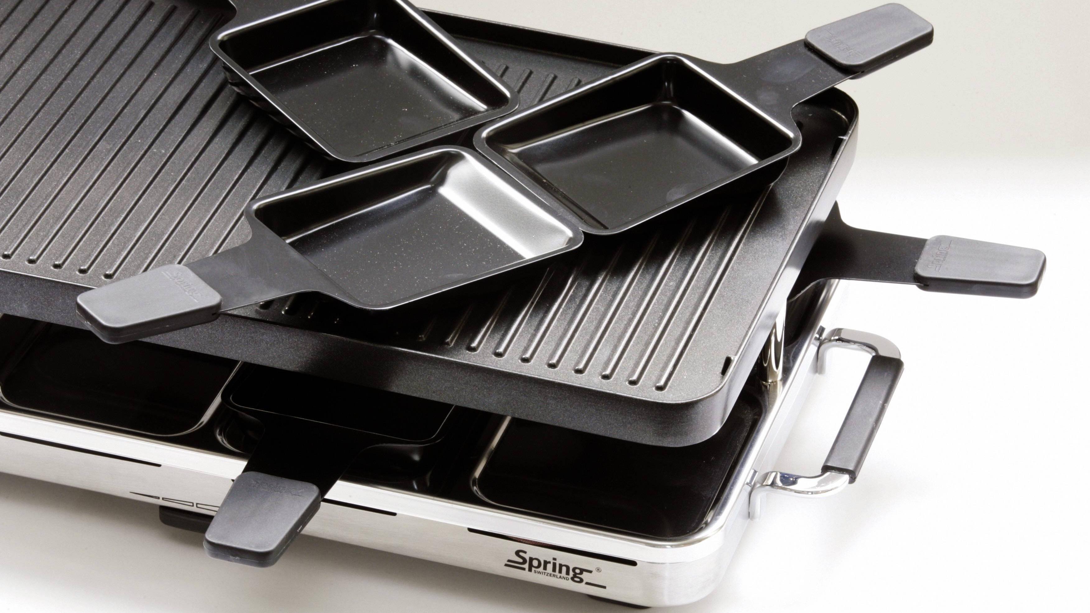 Raclette richtig reinigen - gar nicht so schwer, wenn Sie vorbeugen.