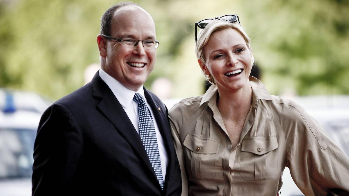Fürst Albert II. von Monaco und Fürstin Charlene 2012 zu Besuch in Baden-Württemberg