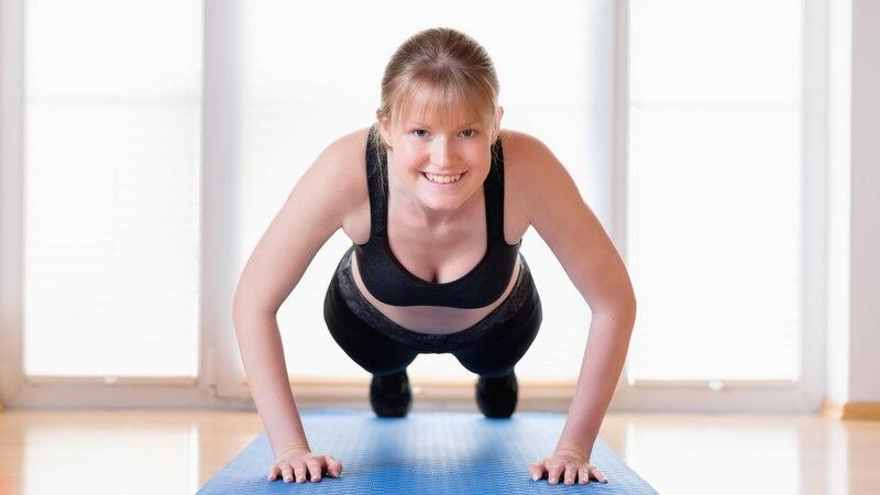 Ganzkörperübungen: 5 Übungen für zu Hause
