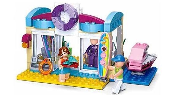 Baustein-Sets der Marke Sluban können als Spielzeug eine gute Alternative zu Lego-Steinen sein