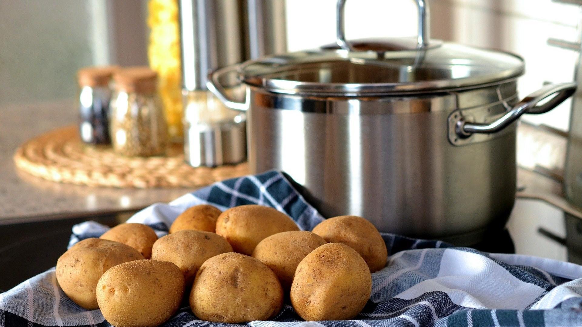 Möhren untereinander - was das ist? Möhren-Kartoffel-Stampf