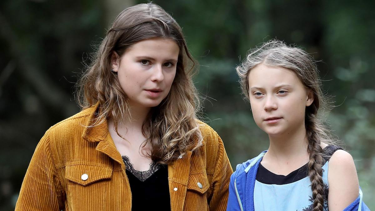 Wie Greta Thunberg (r.) weltweit, steht Luisa Neubauer in Deutschland an vorderster Front des Klimaprotestes