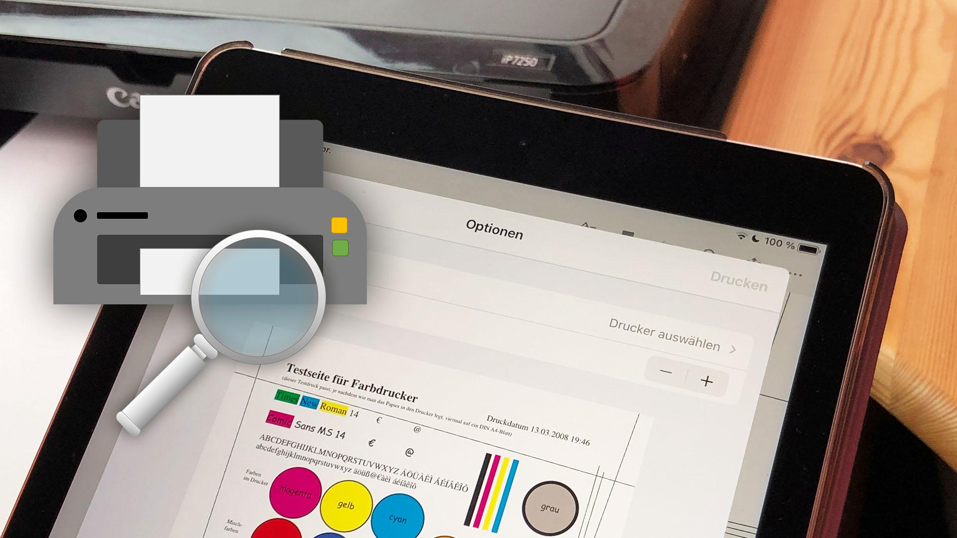 iPad findet AirPrint-Drucker nicht - was tun?