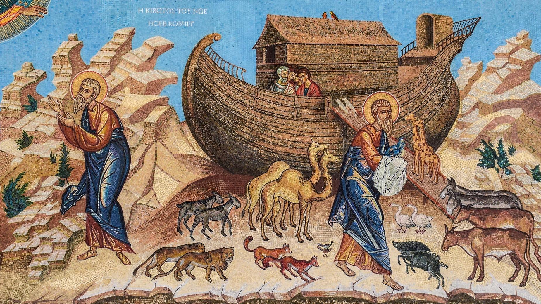 Die Moses Illusion - nicht Moses, sondern Noah sammelte Tiere auf der Arche.