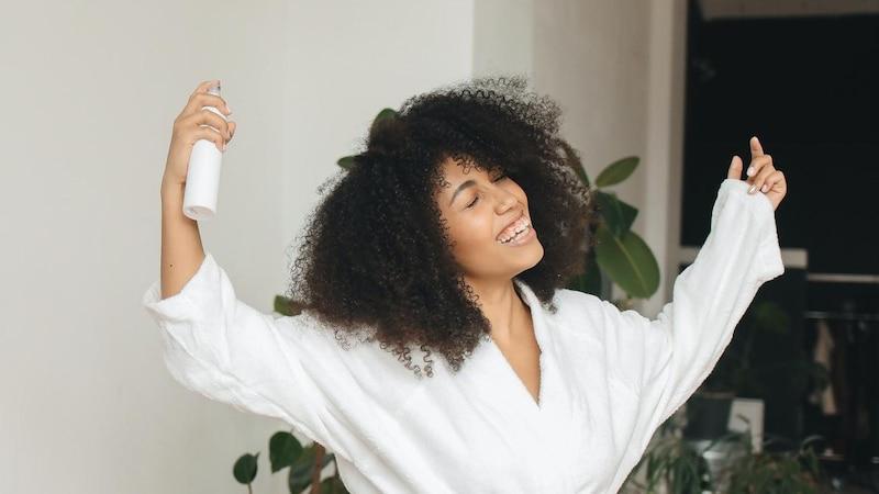 Haarspray entfernen - so geht's ganz einfach
