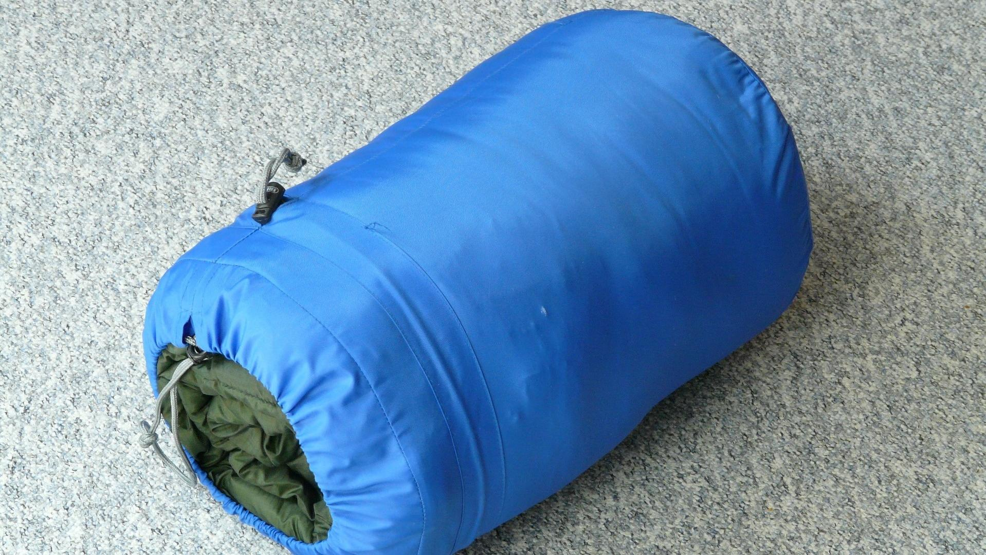 Schlafsack waschen, wenn er unangenehm riecht