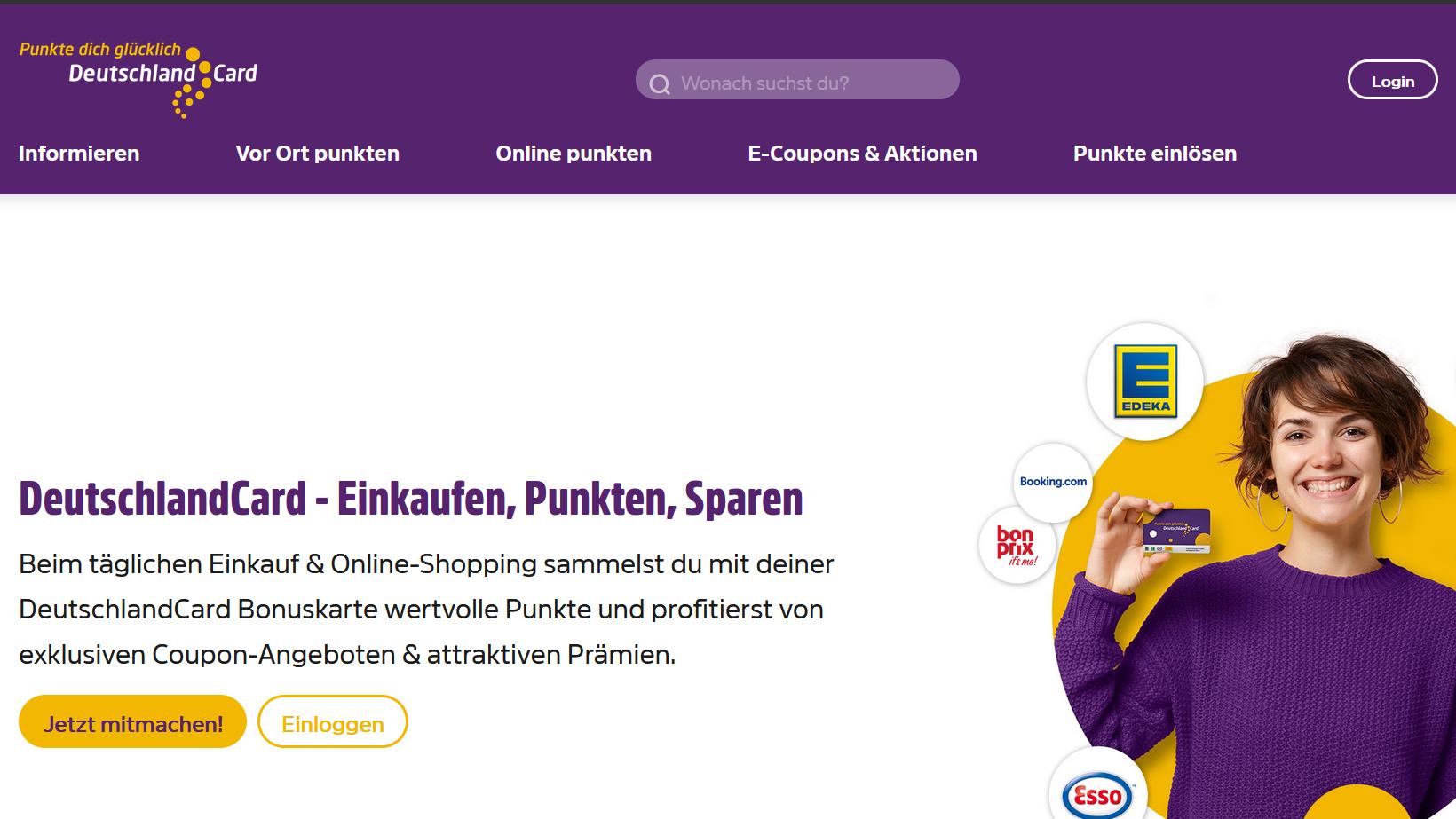 Die DeutschlandCard per Brief oder E-Mail kündigen.