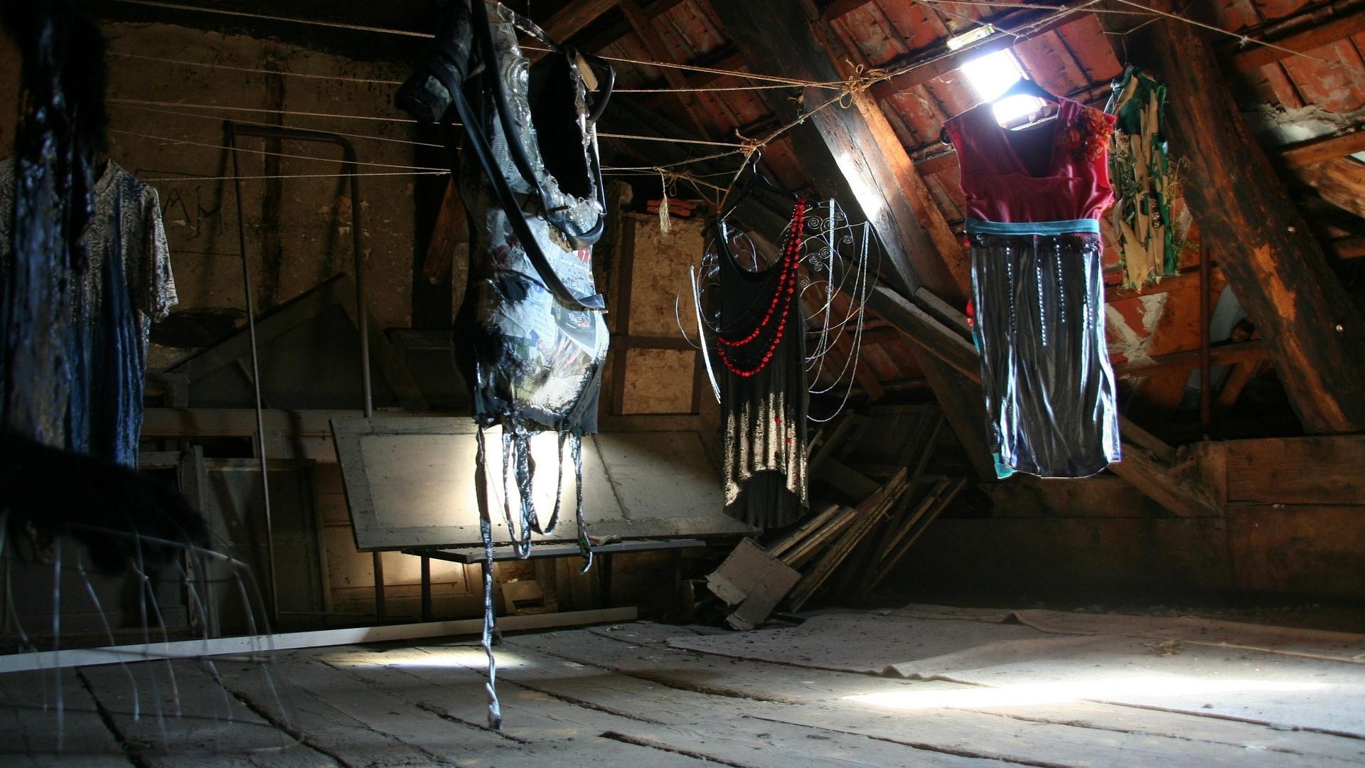 Einen Holzwurm auf dem Dachstuhl können Sie auch mit Hausmitteln vertreiben.