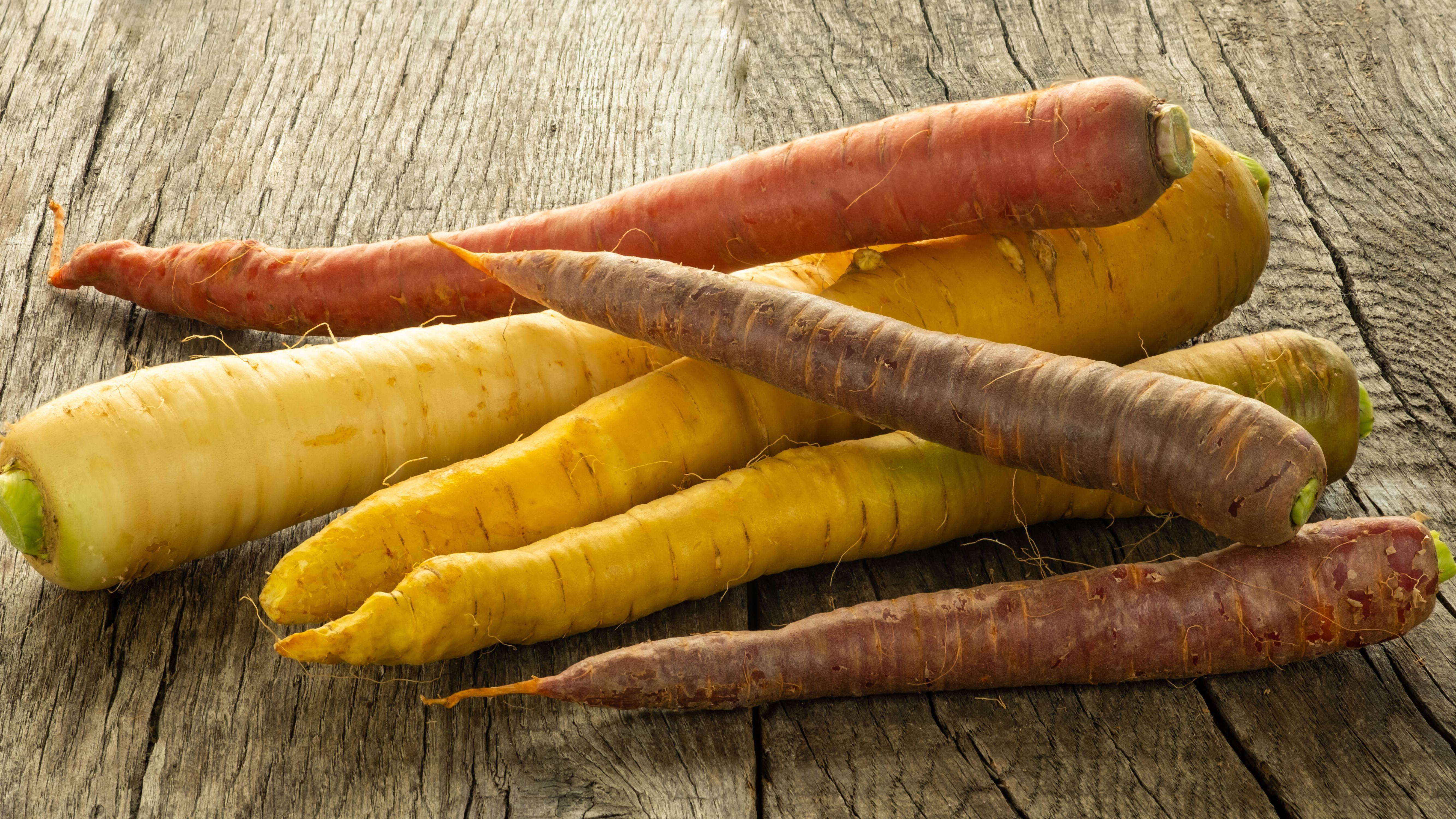 Egal ob Möhren oder Karotten, die Unterschiede sind marginal.