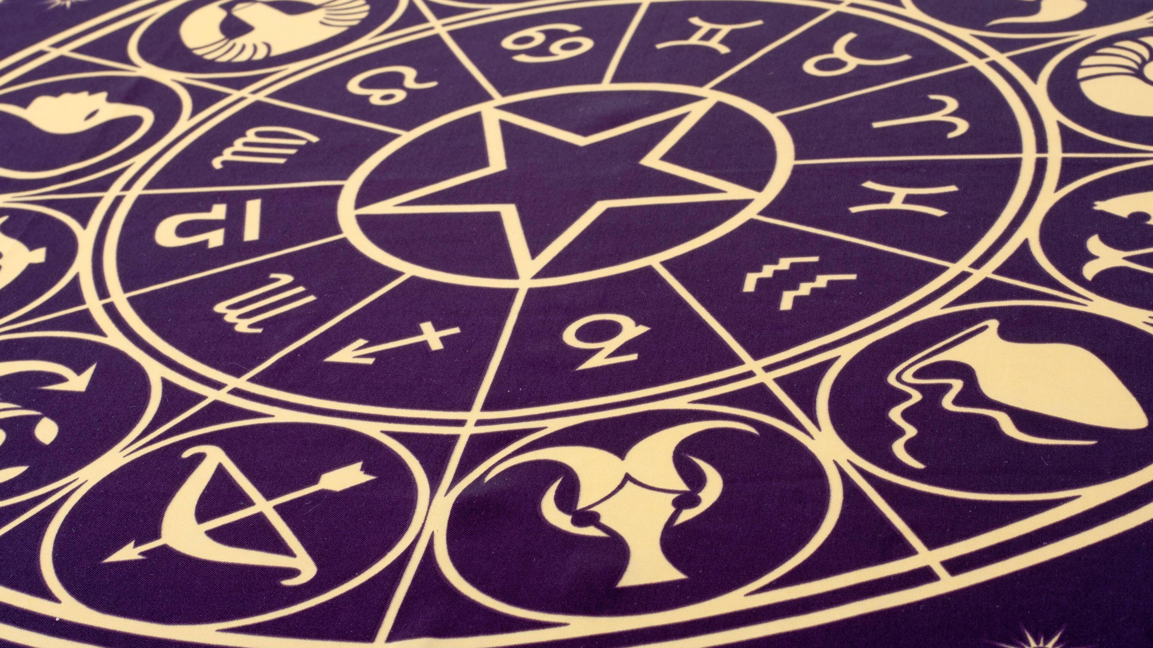Die Reihenfolge der Sternzeichen ist festgelegt und bildet einen Zyklus.