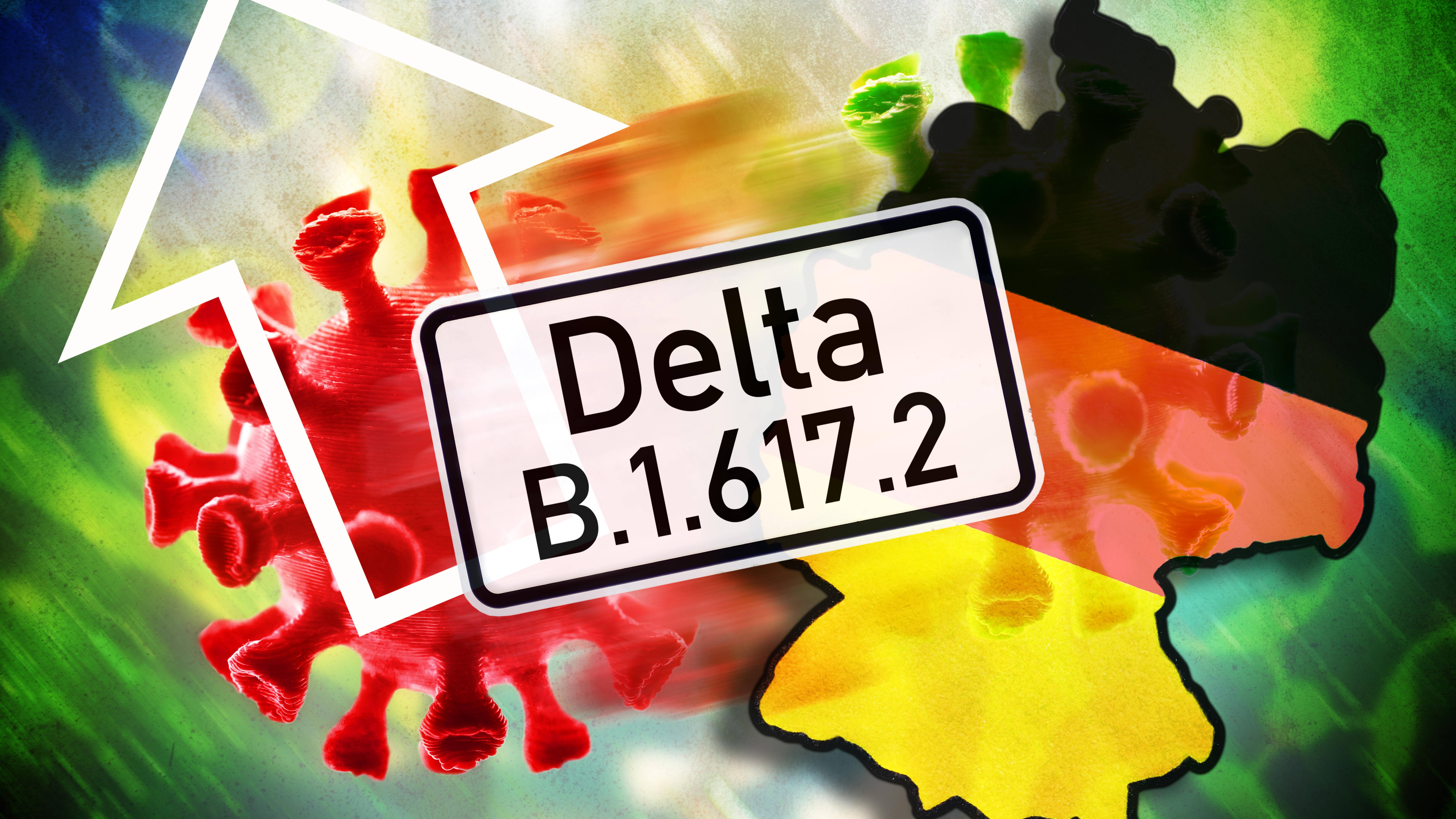 Die Delta-Variante soll ansteckender sein als andere Varianten
