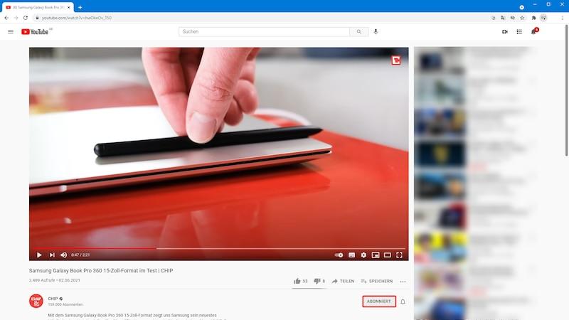 Ein Abo bei YouTube löschen