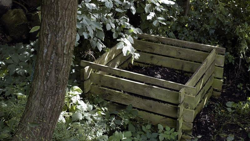 Kompostieren Sie Küchenabfälle, handeln Sie nachhaltig.