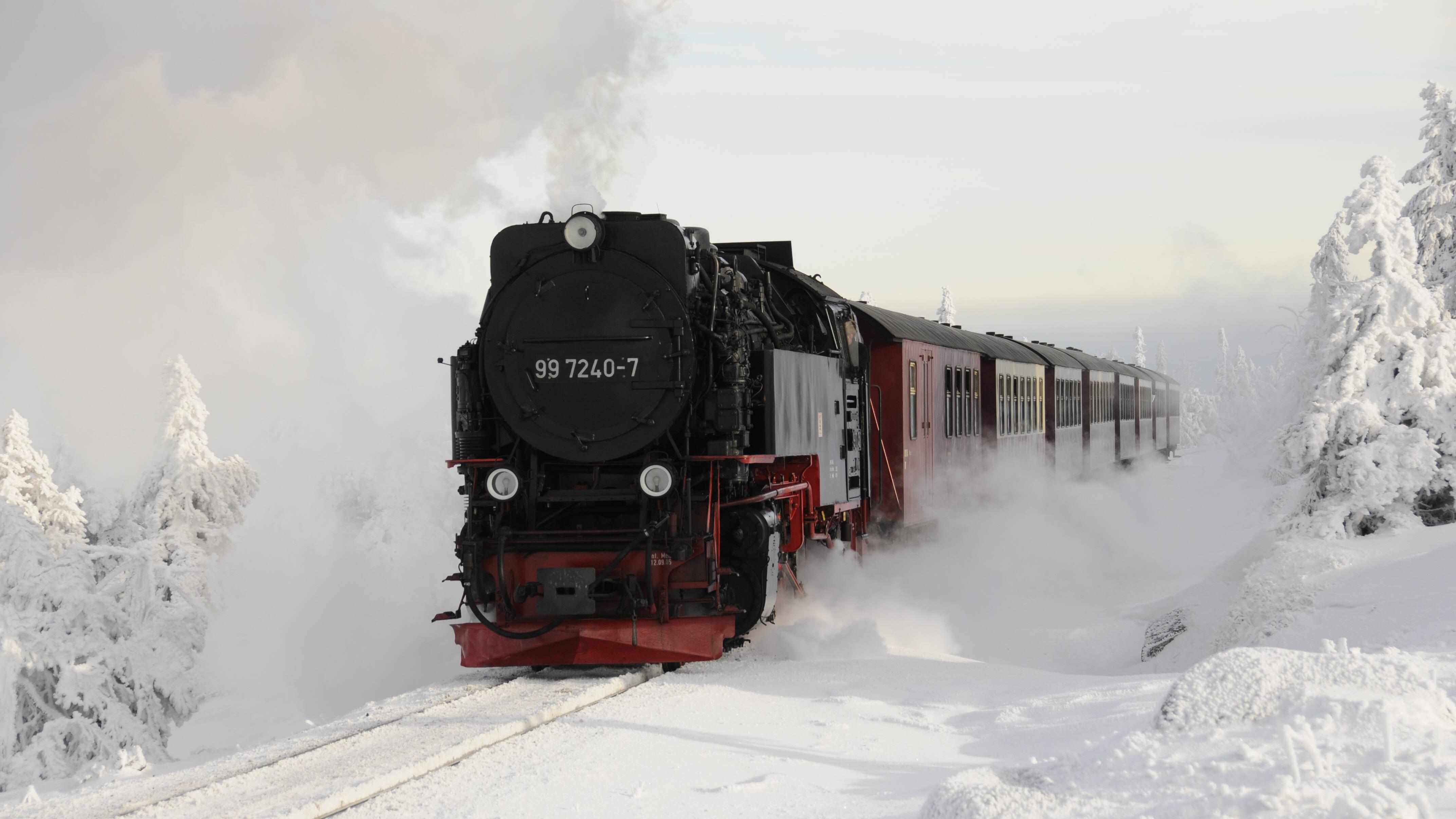 Die Brockenbahn versetzt Sie vom Harz zum Gleis 9 3/4.