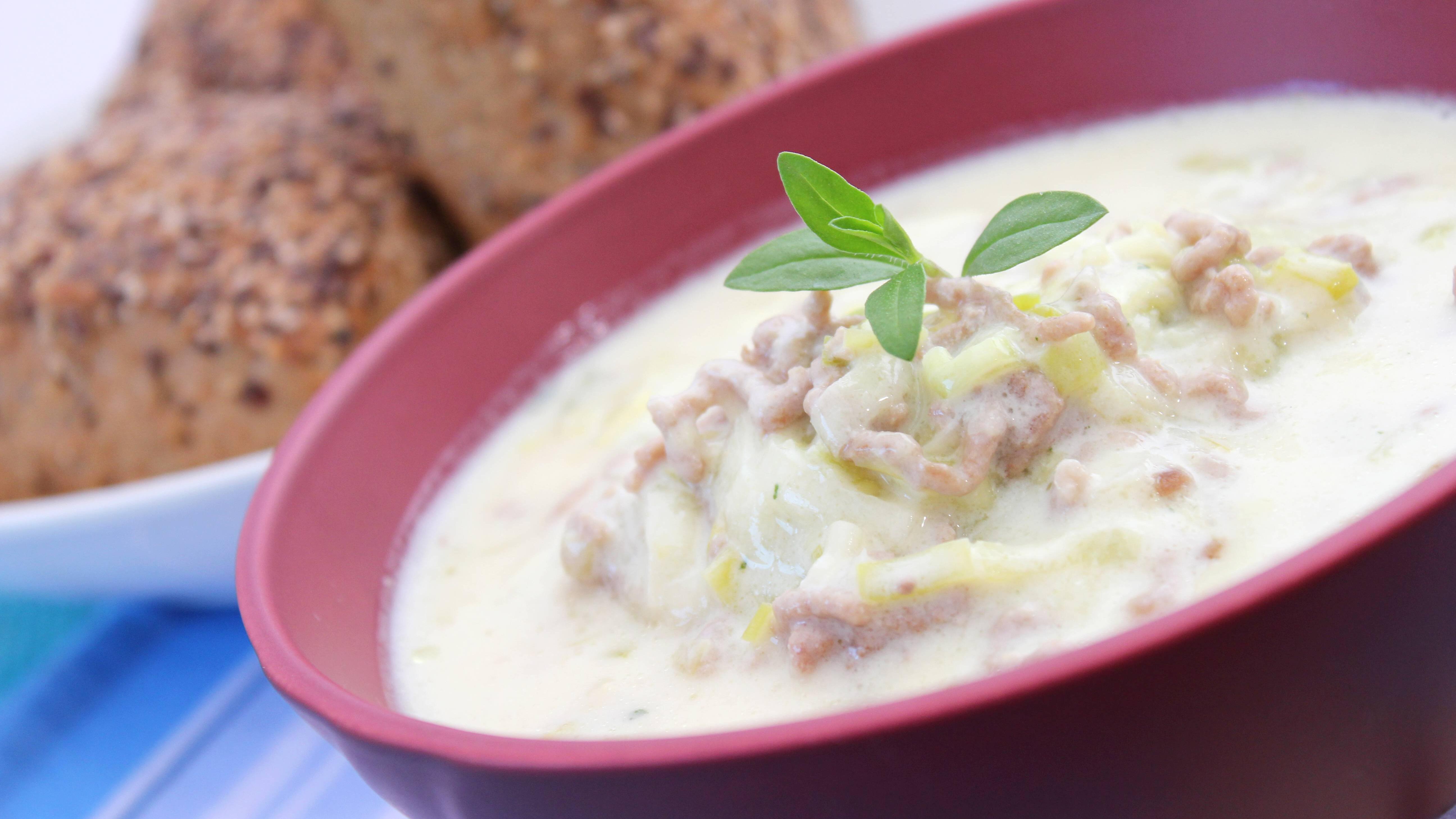 Kann man Käse-Lauch-Suppe einfrieren? Einfach erklärt