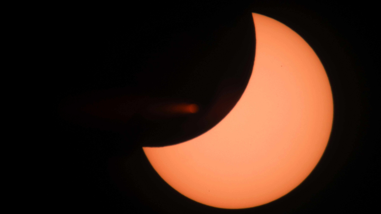 Sonnenfinsternis: Erklärung der Entstehung