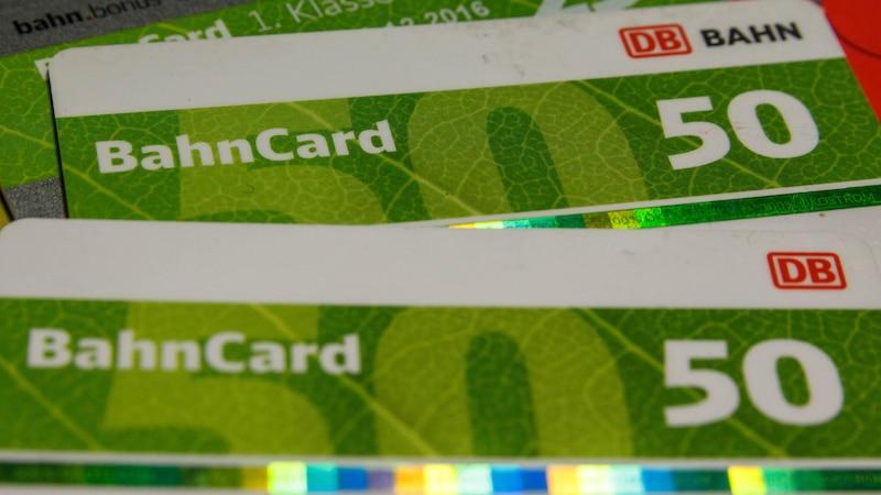Kosten der BahnCard 50 – alle Infos