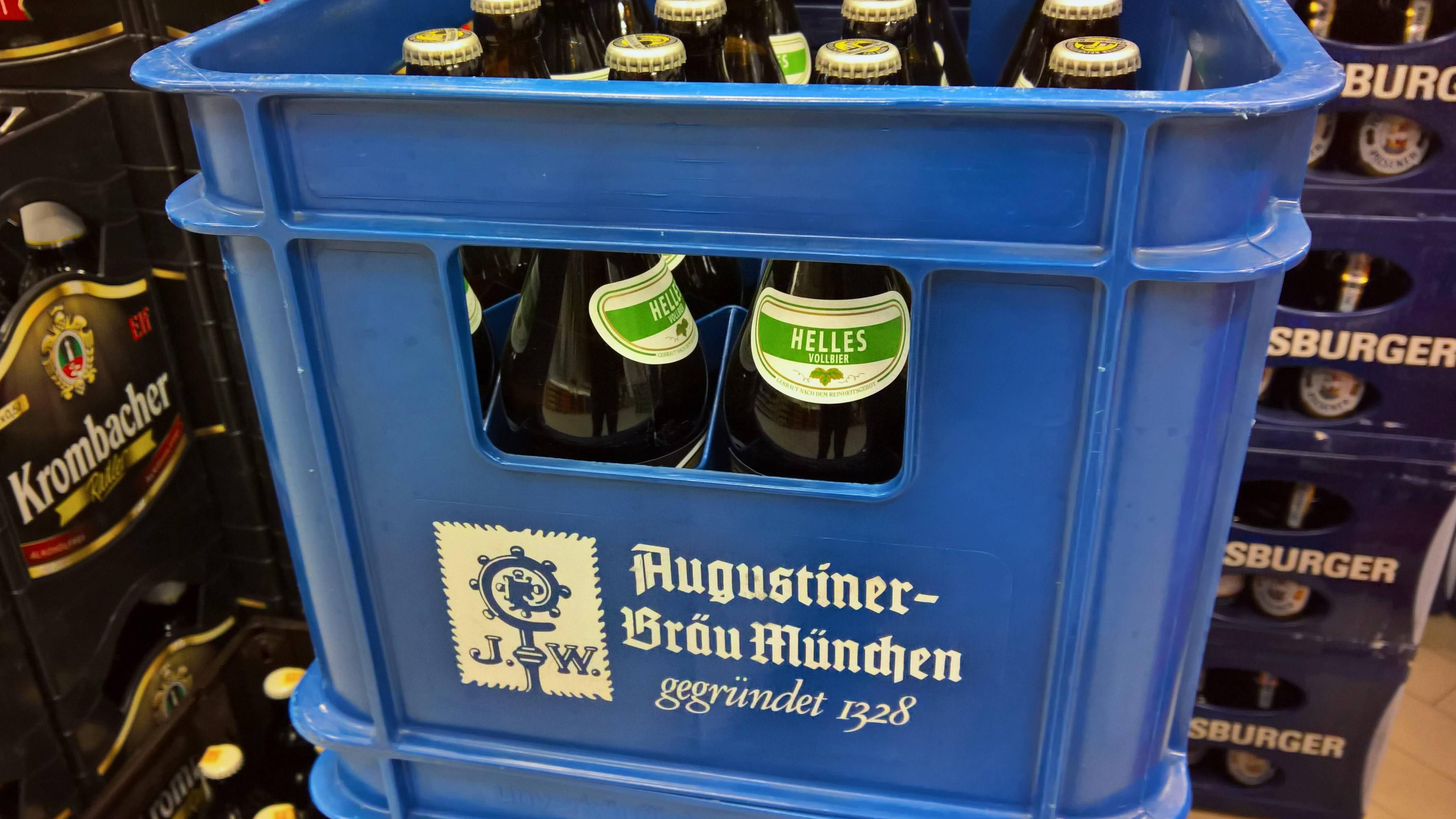 Abgelaufenes Bier ist meistens noch genießbar.