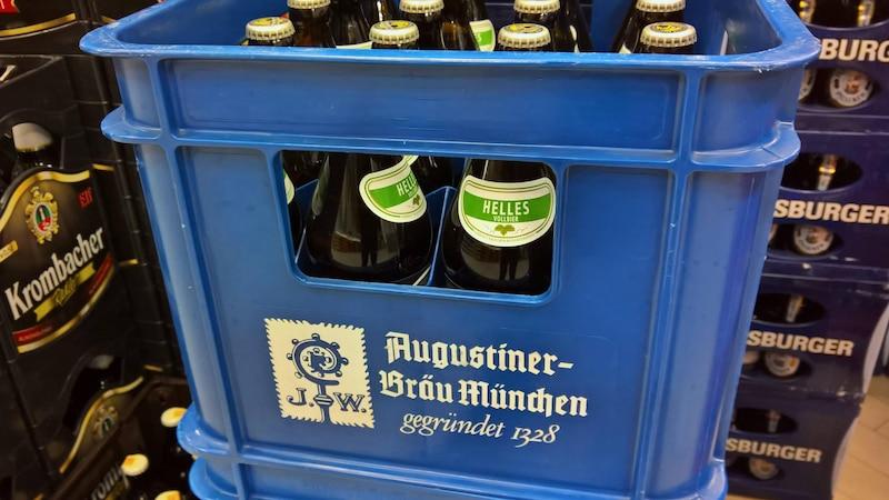 Getränke auf Kommission kaufen - so können Sie ungeöffnete Kisten zurückgeben