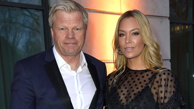 Oliver Kahn und seine Frau Svenja 2019 in Hamburg