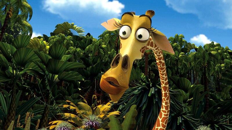 Melman ist seit dem Film Madagaskar der perfekte Giraffenname.