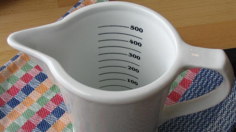 Wie viel ist ein Achtel Liter? So rechnen Sie es in Milliliter um