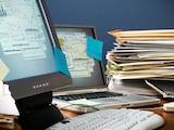 Gegen Chaos im Büro: Mit Dokumentenmanagement-Systemen werden  alle Unterlagen digital erfasst und stehen jedem Mitarbeiter ohne langes Suchen zur Verfügung.