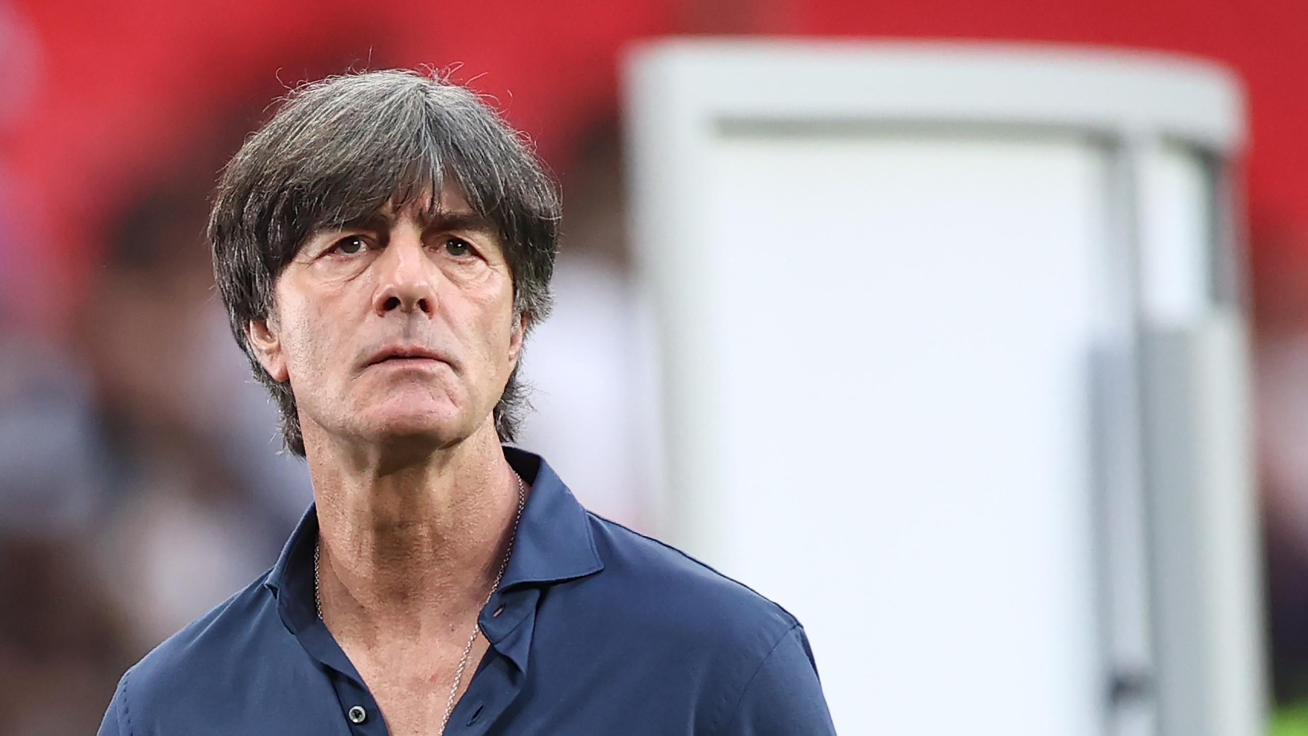 29. Juni 2021: Joachim Löw bei seinem letzten Spiel als Bundestrainer