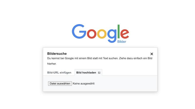 Rückwärtssuche mit Google Bilder