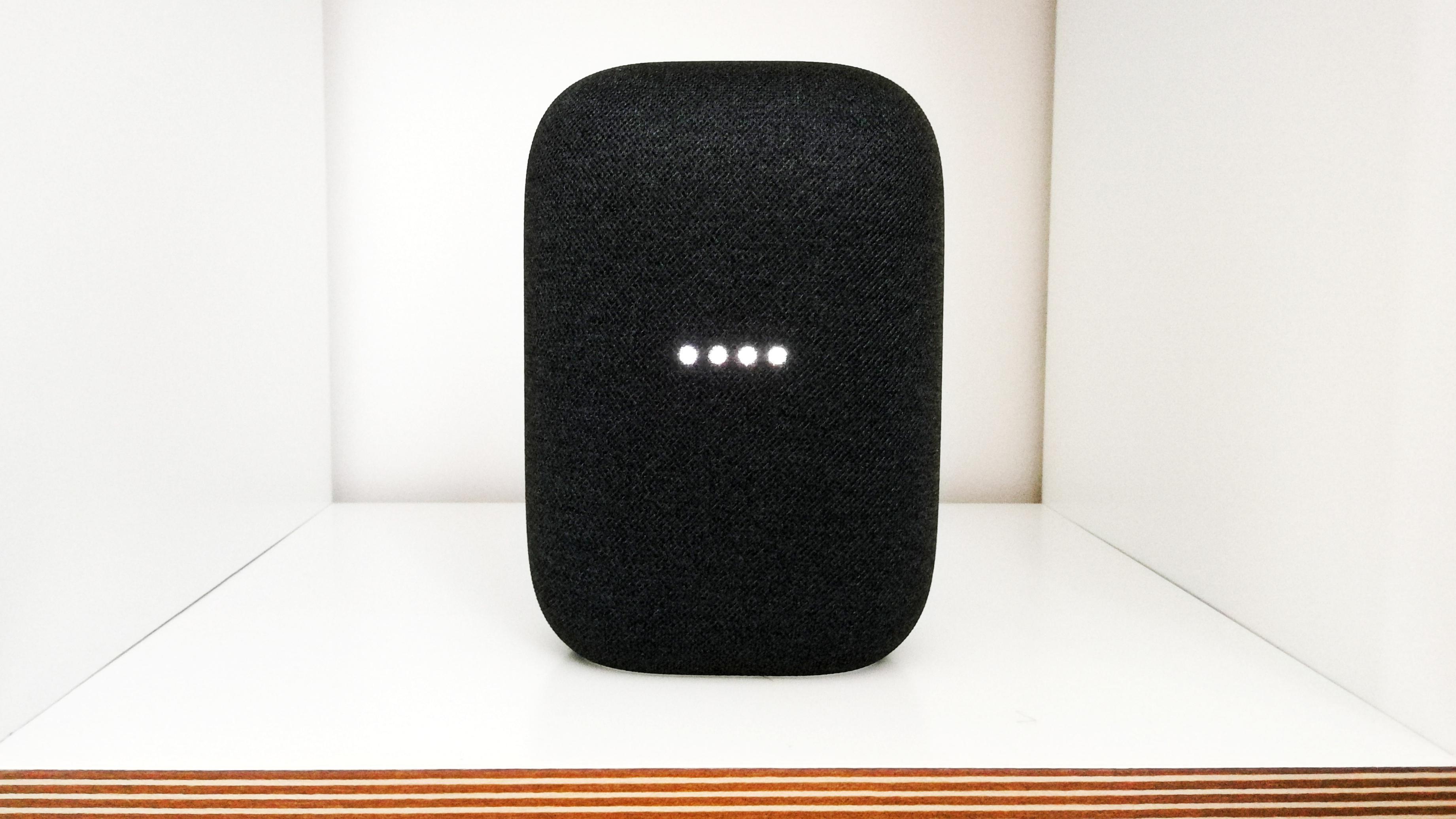 Google Nest Audio ist in wenigen Schritten einsatzbereit.